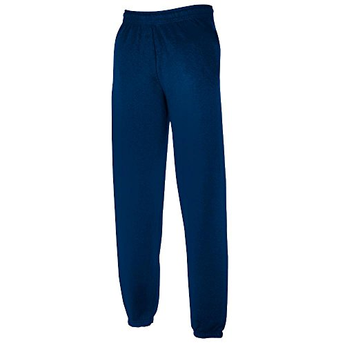 JOGGINGHOSE ELAST BUND FRUIT OF THE LOOM S M L XL XXL S,Navy