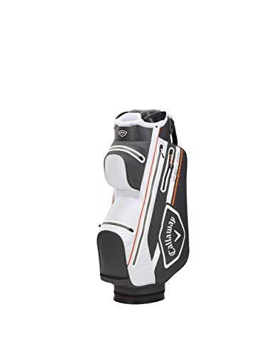 Callaway Golf 5120514 - Bolsa Carrito Chev Dry 2021, Color Negro, Blanco y Naranja, Talla única