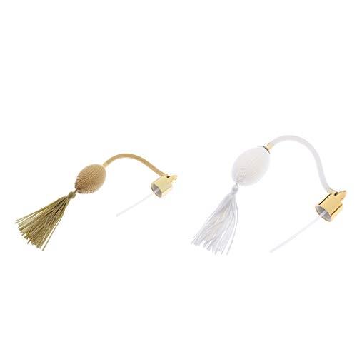Sharprepublic 2x Ampoule Et Tube De Soufflage D'atomiseur De Bouteille De Parfum Rechargeable 18mm DIY Accessoires