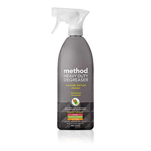Our #3 Pick is the Method Spray Kitchen Degreaser
