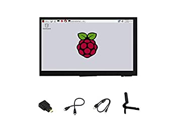 Ingcool 7 inch HDMI LCD 1024x600 Resolution Capacitive Touch Screen IPS Display Module Compatible with Raspberry Pi 4 3 2 1 B B+ A+ PC Supports Windows 10/8.1/8 / 7
