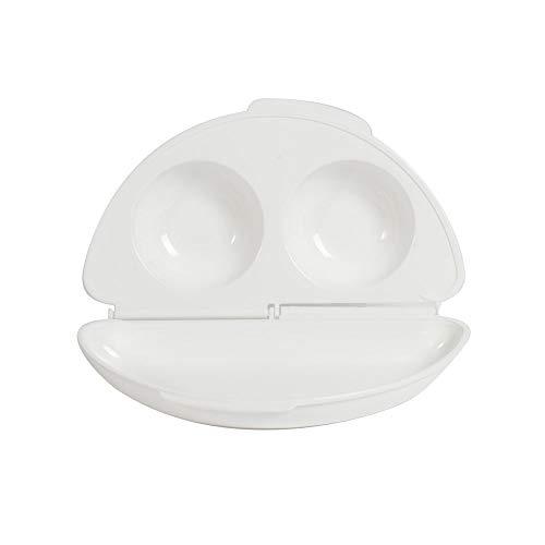 ProCook Omelettemaker für die Mikrowelle - Einfach und schnell - Eierkocher - Pochierpfanne - Omlettkocher für die Mikrowelle