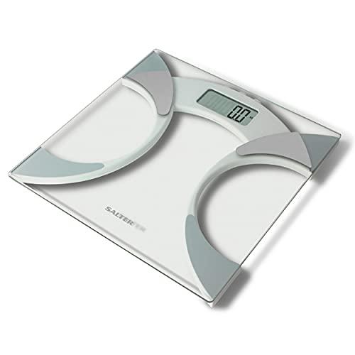 bilancia pesapersone 160 kg Salter Bilancia Pesapersone Digitale Analizzatrice Ultrasottile in Vetro