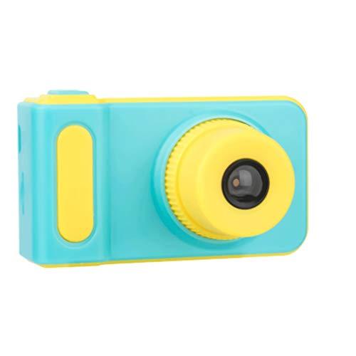 IENPAJNEPQN Juguete de la cámara Digital de los niños Puede ser fotografiado cámara Ilustración Hijos portátil de pequeño tamaño Mini Estudiante bebé (Color : Blue)
