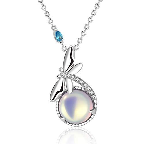 Collar de plata de ley de alta calidad para mujer con forma de flor, regalo para madre