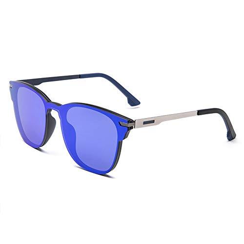 XFSE Gafas de Sol Nuevas Gafas De Sol Polarizadas Que Conducen con Gafas Antirreflectantes. (Color : Gray)