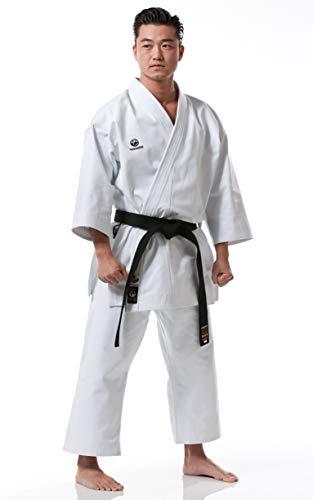 Tokaido Unisex– Erwachsene Kata Master Karateanzug, weiß, 170