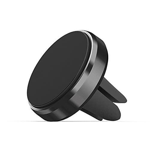 USNASLM Universal magnético aleación de aluminio coche teléfono titular coche ventilación navegación soporte universal teléfono móvil perezoso persona