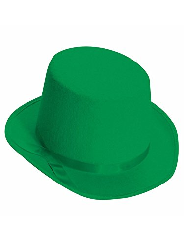 Forum Novelties Green Deluxe Top Hat