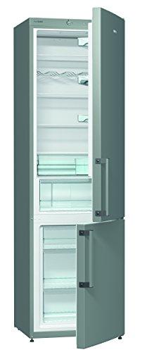 Gorenje RK 6202 EX Kühl-Gefrier-Kombination/A++ / 200 cm Höhe / 241 kWh/Jahr / 257 L Kühlteil / 95 L Gefrierteil/SlotIn Flex-Türscharniere/Edelstahl