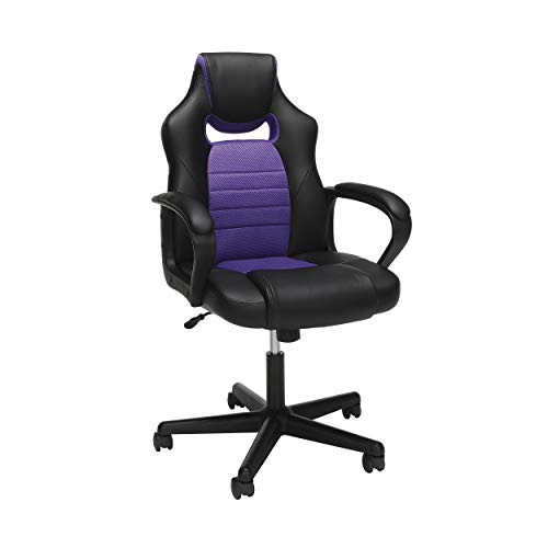 OFM Essentials Collection Racing Style Gaming Chair, in Purple