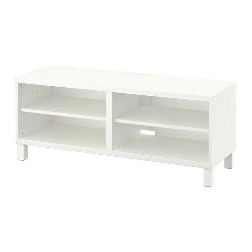 Ikea TV-Einheit weiß 14202.2058.1030