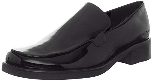 Franco Sarto Womens Bocca, Black Patent, 12 W US