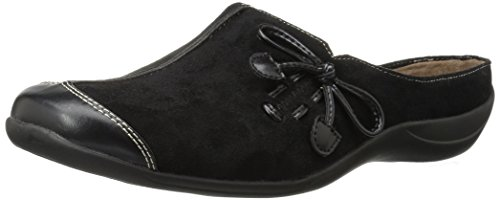 SOUL Naturalizer Women's Fanner Clog, Black, 7.5 M US