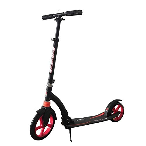 Review LAOHAO Scooter Adult Teen Pedals Older Children 2 Round Aluminum Frame (Non-Electric) Foldabl...