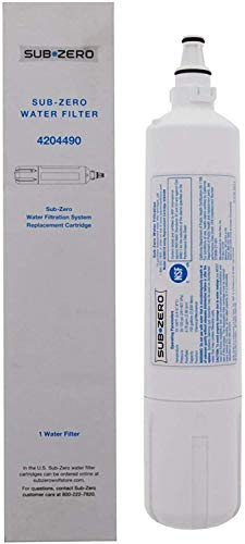 Replacement for Subzero Water Filter Replacement 4204490 - Sub Zero Water Filter 4204490-1 Pack