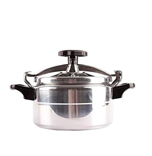 Cocina de presión a prueba de explosiones, olla de arroz portátil Cocina lenta Vaporizador de vapor y soporte Cocina de inducción de estufa de gas Universal para restaurante familiar Cocina Cocina 2L