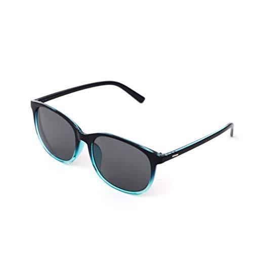 Jcerki Oversize Frame nearsighted Sunglasses Glasses-1.50 Strength Myopia Glasses Men and Women Lightweight Distance Glasses