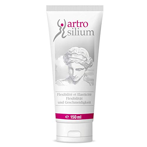 Artrosilium Organisches Silizium Gel 150ml - Silicium Gelenk Gel zum Einmassieren - Massage Gel zur täglichen Anwendung- 4 Wochen Kur - 150ml Tube
