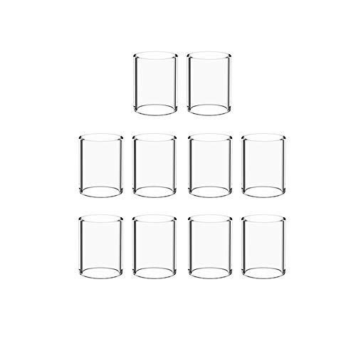 (10-Pack) Topuro Pyrex Glas für Melo III (Melo 3) Ersatz
