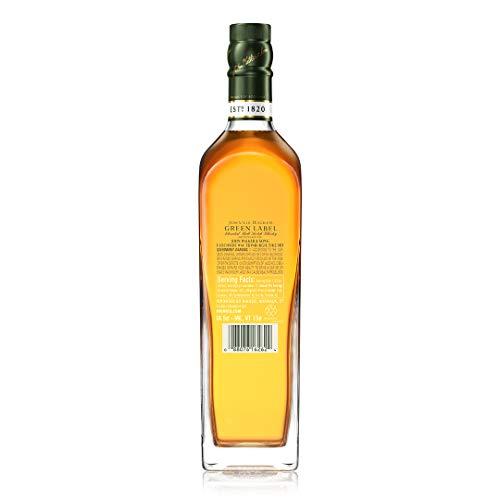 【販売量世界No.1スコッチウイスキー】ジョニーウォーカーグリーンラベル15年[ウイスキーイギリス700ml][ギフトBox入り]