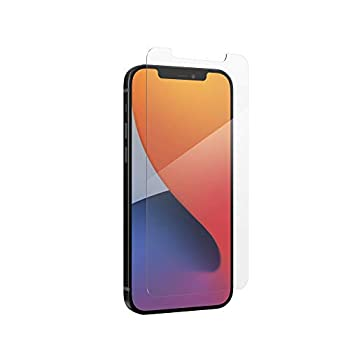 ZAGG InvisibleShield Glass+ Screen Protector – High-Definition Tempered Glass Made for iPhone 12 Pro and iPhone 12 – Impact & Scratch Protection 200106692