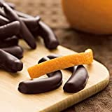 Lake Champlain Dark Chocolate Covered Candied Orange Peels, 25 Pieces, 7.25 Ounces