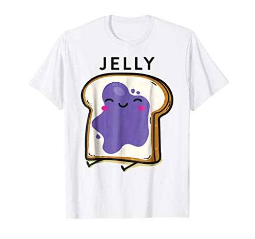 Peanut Butter Jelly 2 Matching BFF Tees Best Friend T Shirts