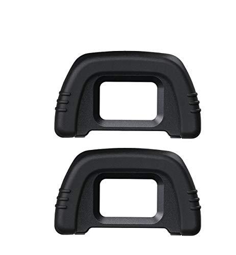 HomyWord (2 PCS) Ocular / Visor para Nikon D90 D80 D70 D70s D60 D50 D40 D40s D100 D200...