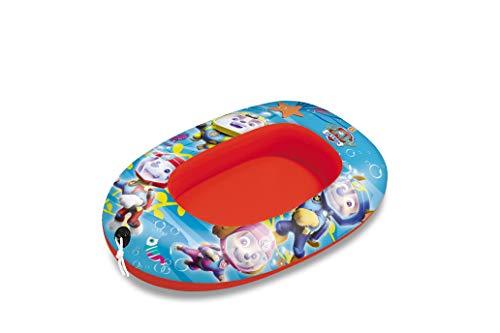 Mondo Toys - Paw Patrol Small Boat - Canotto Gonfiabile / Gommone per Bambini - misura 94 cm - Facile da Gonfiare e Sgonfiare - PVC Termosaldato resistente - ideale per spiaggia, mare, piscina - 16631