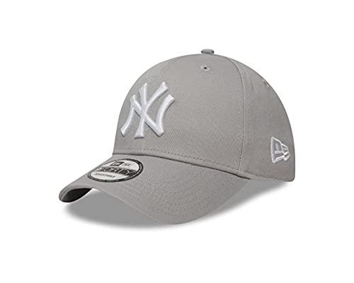 New Era New York Yankees Grey White 9Forty Cap - One-Size
