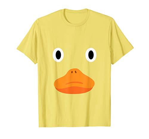 Ente Shirt Quietscheente Schnabel lustiges Badeenten Kostüm T-Shirt