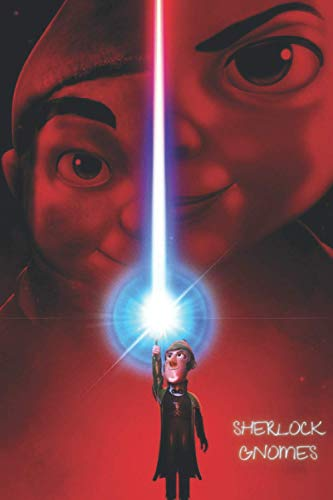 Sherlock Gnomes: Amazing Sherlock Gnomes Cover On Your Notebook From Now On. 120 Pages. Soft cover.
