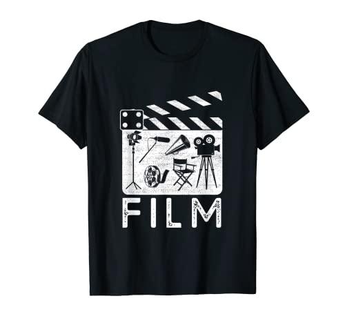 Cinema Arte Filmando Cinematica Filmando Macchina Fotografica Movie Maker App Maglietta