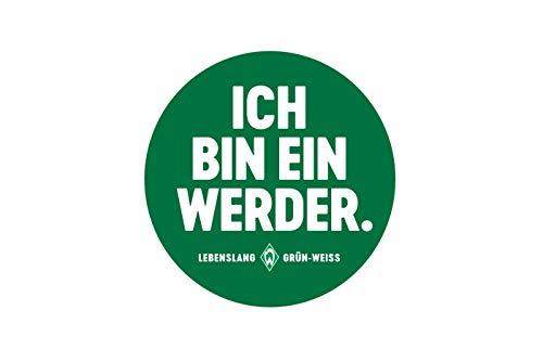 Werder Bremen Aufkleber,Sticker, Ich Bin Ein Werder 6,4x6,4 cm