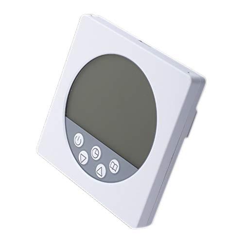 Mogzank DW-C15 CalefaccióN EléCtrica 16A Sin Wifi Termostato de Pantalla LCD Oculto Termostato de CalefaccióN EléCtrica