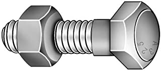 50pcs 3//4-10X5 Structural Bolts Plain Finish Steel