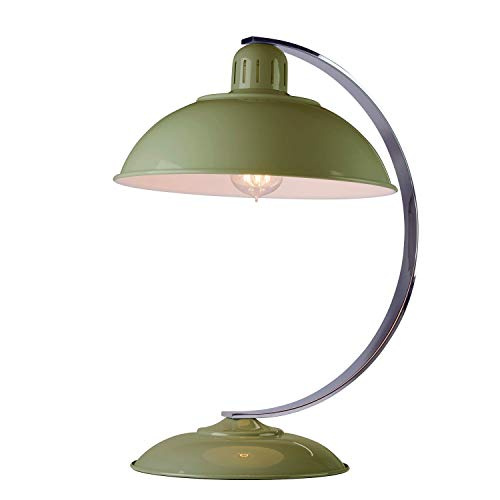 Design Tischleuchte SECRETER Grün H:46cm Bauhaus Lampe Schreibtischlampe Büro Arbeitszimmer