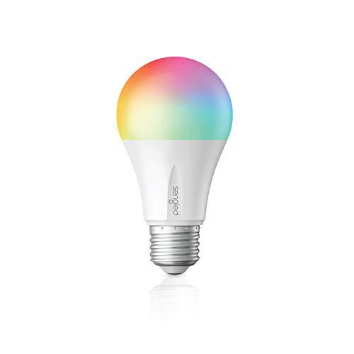 Sengled-Elemento de color plus Smart Bombilla LED Bombilla de luz cambiante de color A19, RGBW 16 millones de colores y blanco ajustable 2000-6500K, funciona con Alexa / Echo Plus / S