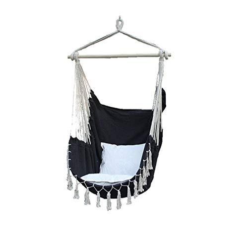 IMFFSE Balançoire pour Enfants en Plein air Chambre à Bascule Chaise à Suspendre en Tissu pour Pompon