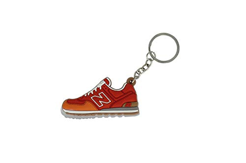 ProProCo Sneaker Schlüsselanhänger Air Max Schuh Schlüsselanhänger 97 98 Schuh anhänger Fashion für Sneakerheads,hypebeasts und alle Keyholder Nik Adi Yeez Supreme Palace (Rot und Orange)