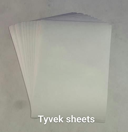 DuPontTM Tyvek® 1073D Blatt (75gsm) [20Stück A5]