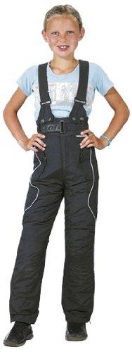 Roleff Pantalón de Motorista para Niños Racewear, Negro, S/128
