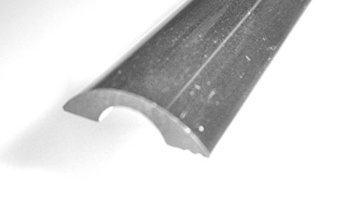 Universal Schwallleiste Aluminium chrom 20 mm breit, 5 mm hoch, 1000 mm lang