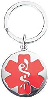 medical id keychain
