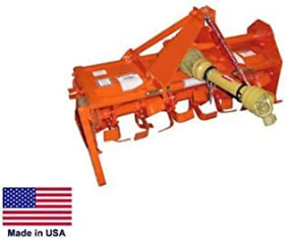 Streamline Industrial ROTARY TILLER - 3 Point Hitch Mounted - PTO Driven - Sub-Compact Tractors - 48