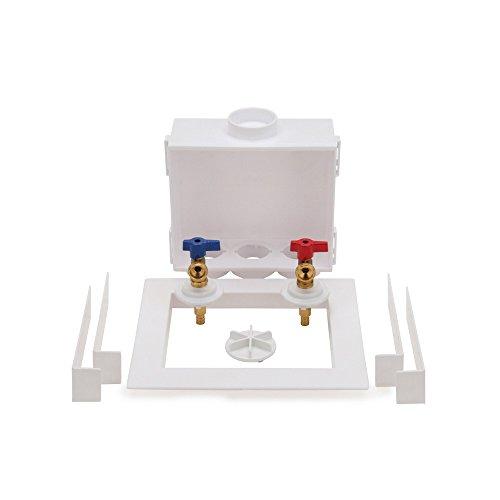 "Oatey 38528 Quadtro Washing Machine Outlet Box F1807 PEX Tail Piece, 1/4"" Turn, 2"" Hub"