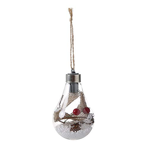 HBEILIN Waterproof Outdoor Hanging LED Bulb Hanging Lights Home Bedroom Night Light Garden Christmas Tree Decoration-A Good Decoration for Daily Life and Festivals.