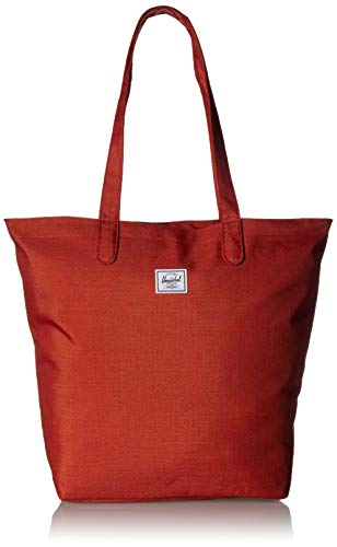 Herschel Mica Tote Bag, Red Picante Crosshatch, One Size