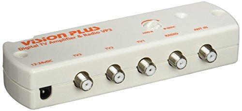 Grade Vision Plus Digital TV- und Radioverstärker VP3 10.8-28V DC, Weiß